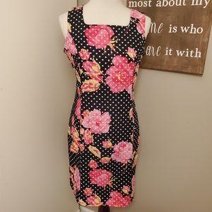Courtenay Floral Sheath Dress Size 10